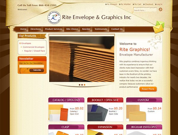 Rite Envelope & Graphics Inc