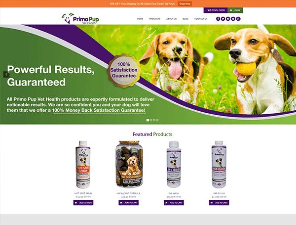 Primo Pup Vet Health
