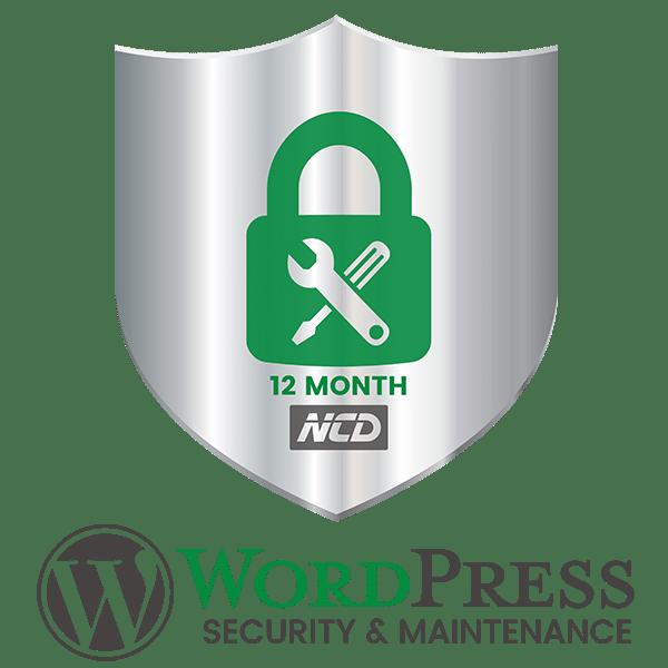 WP Maintenance Badge 12 Month
