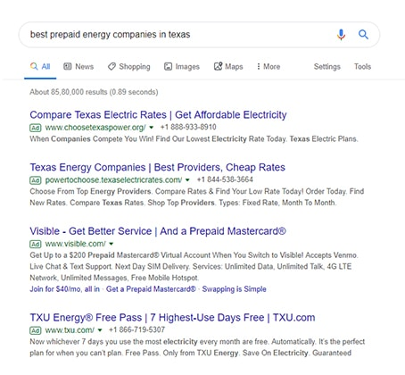 best prepaid energy companies in texas