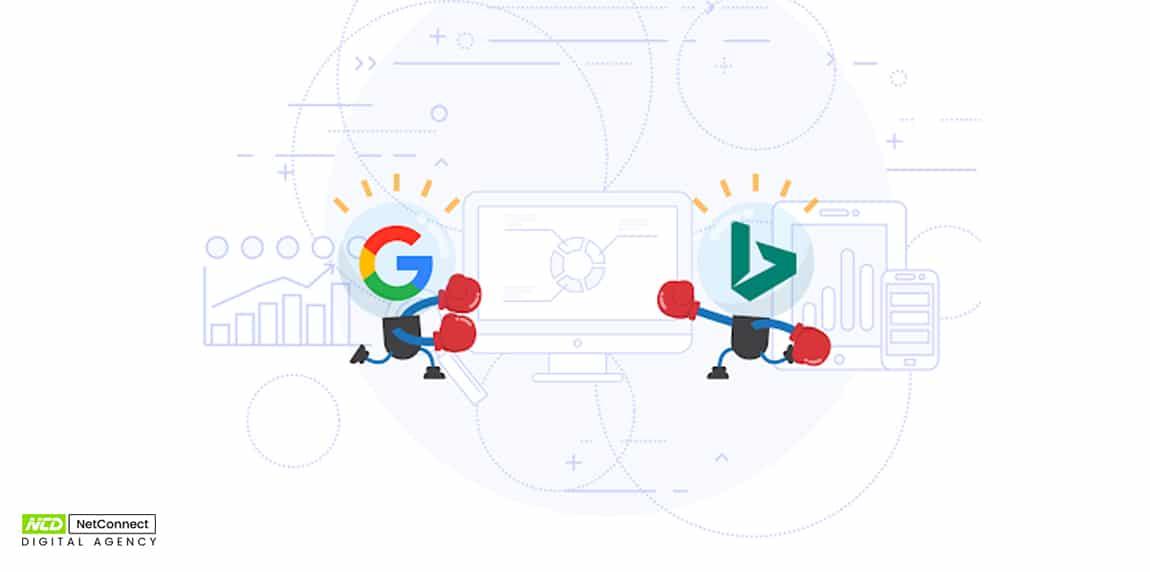 Bing ad vs google ad